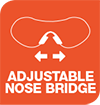 ADJUSTABLE NOSEBRIDGE - Icon