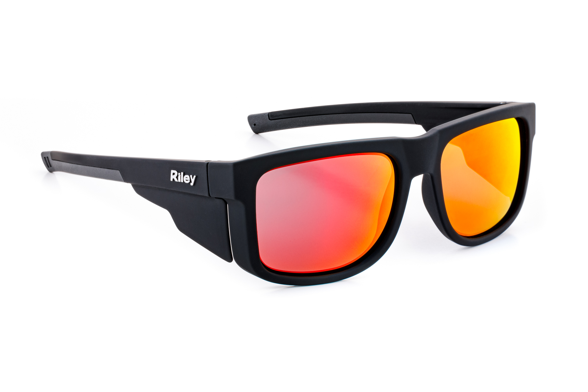 Riley Navigator Safety Glasses Fire