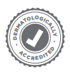 DERMATOLOGICALLY ACCREDITED - Icon